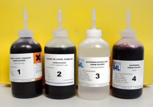 composition du kit de gram hucker ral - Coloration De Gram Protocole